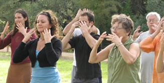 Tai Chi Easy Group Practice